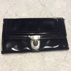 Black Patent Wallet